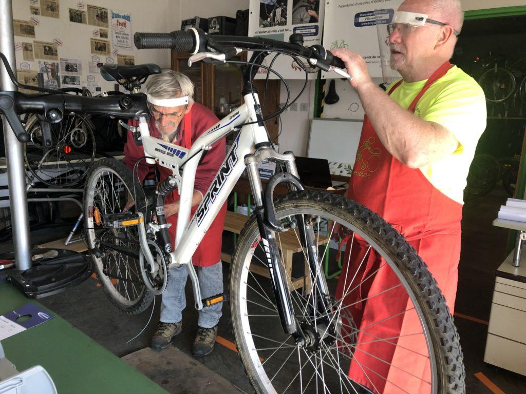 Réparation subventionnée d'un vélo