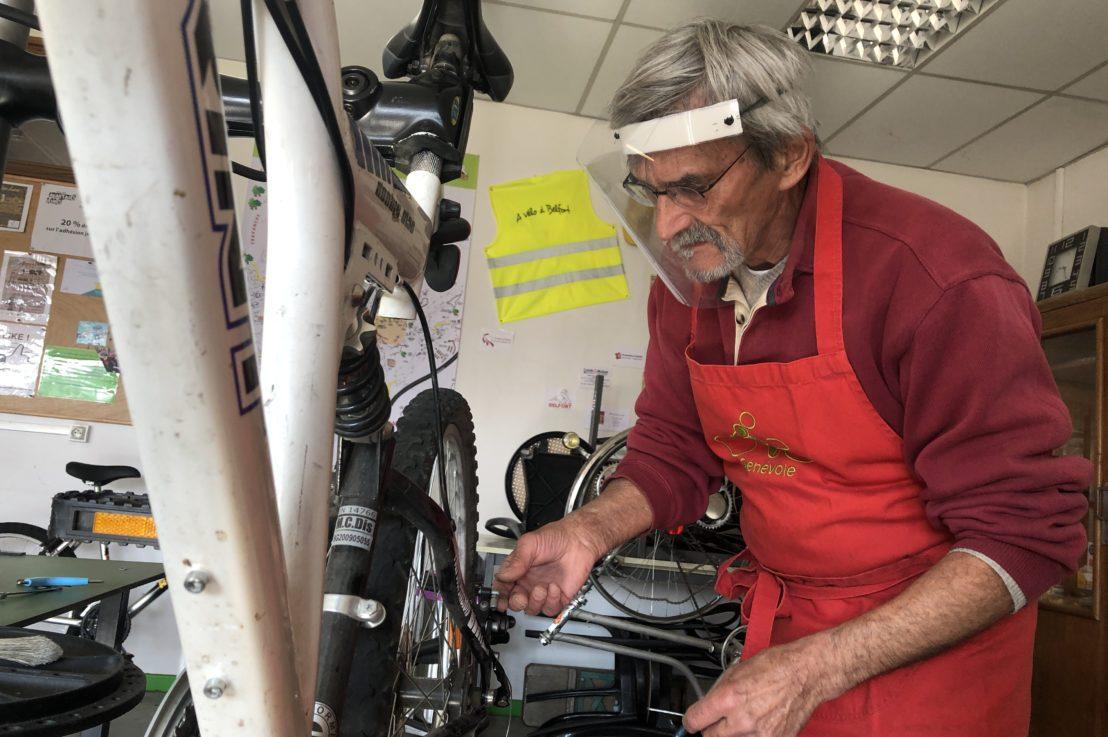 Maillon Solidaire : l'atelier du vélo déconfiné sur rendez-vous